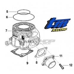Eclaté cylindre TM K9 - KZ10
