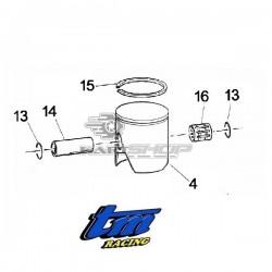 Eclaté piston TM K9 - KZ10