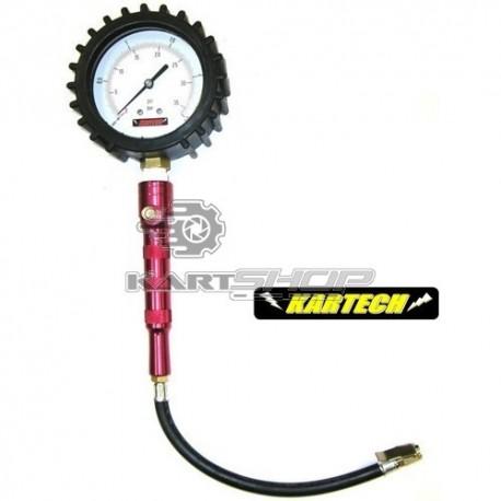 Manomètre de pression de pneus KARTECH - Classe 1