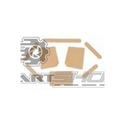 Kit de protection de châssis adhésif