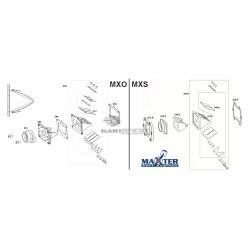 Eclaté boite à clapets MAXTER MXO/MXS
