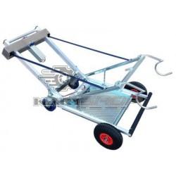 Chariot lève kart électrique DALMI FOX-alu