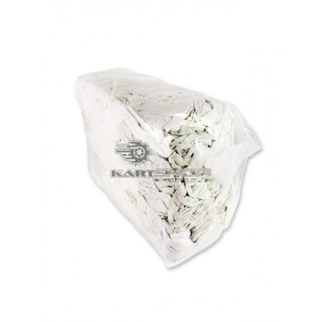 Chiffons coton blanc paquet 1 kg