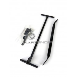 Kit support de radiateur X30 large 410 x 230