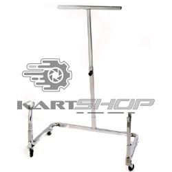 Chariot KARTECH vertical chromé
