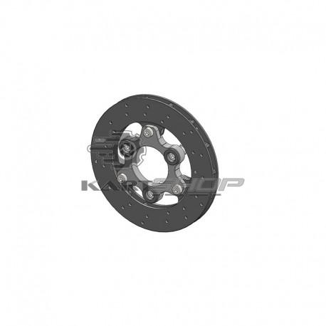 Disque de frein + support complet PAROLIN Mini