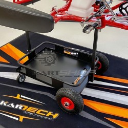 Chariot de transport de kart ECO noir