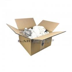 Chiffons coton blanc en colis de 3, 5 ou 7 kg
