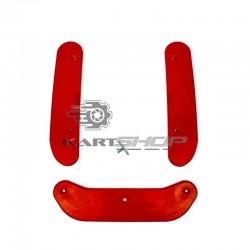 Kit de protection châssis nylon Rouge ou Noir