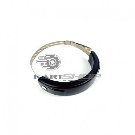 Collier de fixation avec coque de protection silencieux KZ