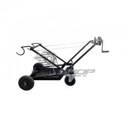 Chariot lève kart à treuil manuel DALMI D-ALU