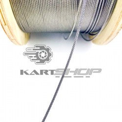 Câble de sécurité de pompe de frein
